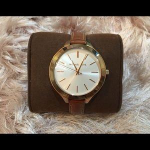 Michael Kors Runway Rose Gold Watch MK2284 $195
